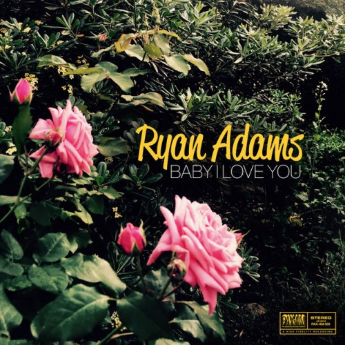 Baby I Love You by Ryan Adams from PAX-AM (cat. no.