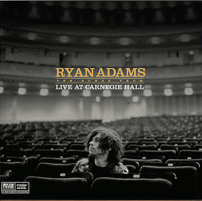 Ten Songs from Live at Carnegie Hall by Ryan Adams from PAX-AM (cat. no. PAX-AM 053