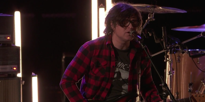 Ryan Adams appears on The Voice